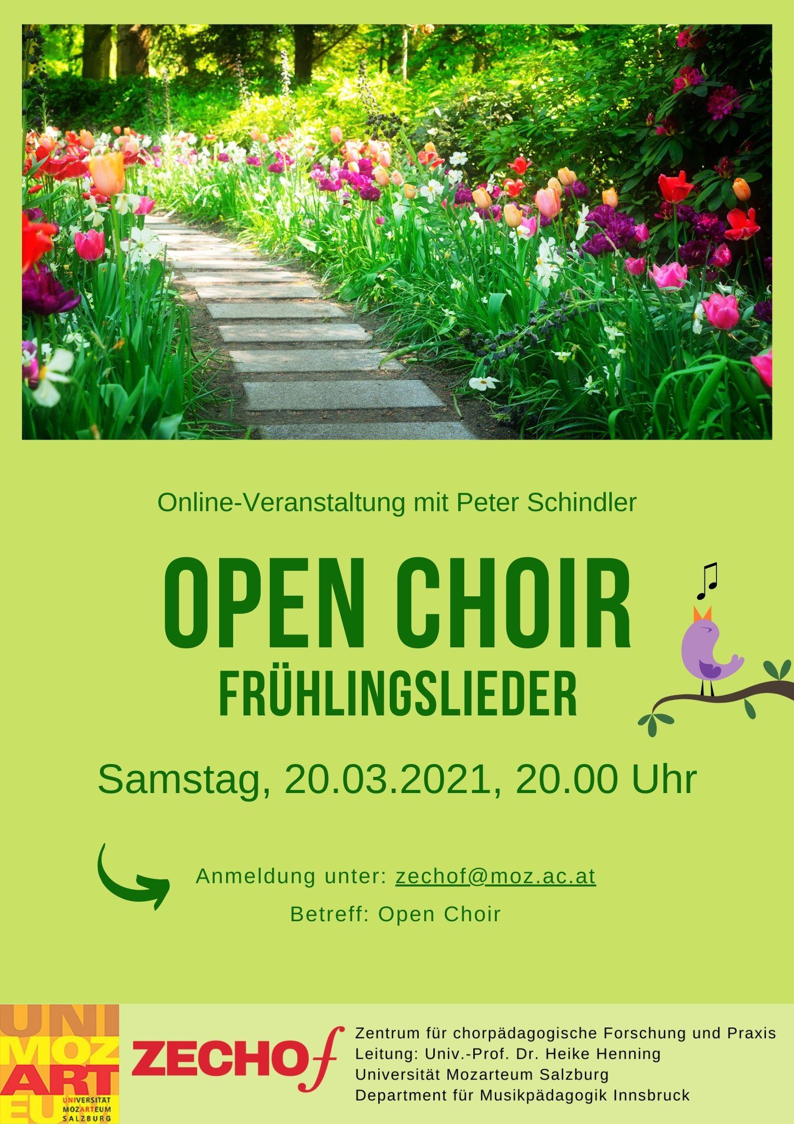 Open Choir Frühlingslieder