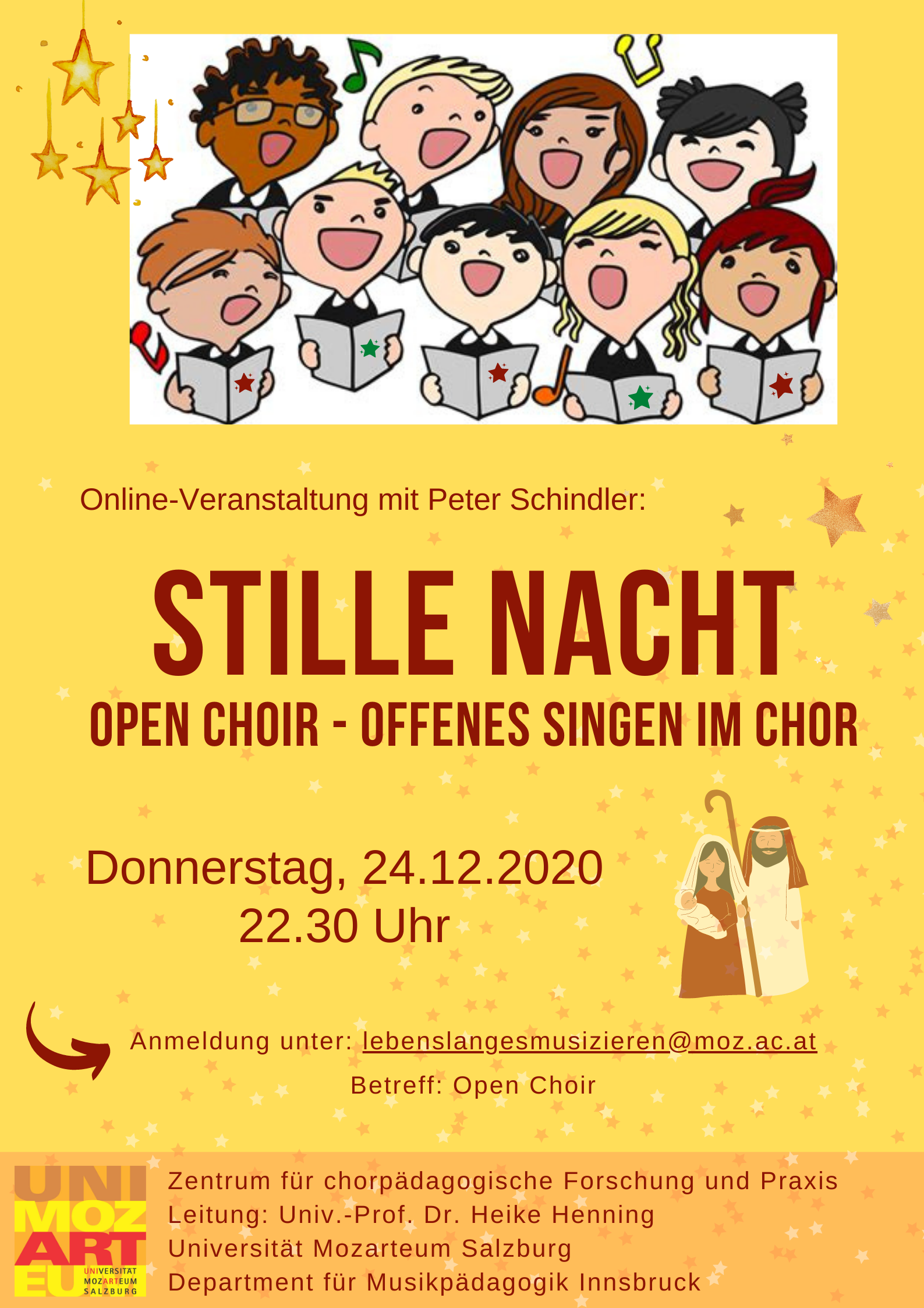Open Choir Stille Nacht