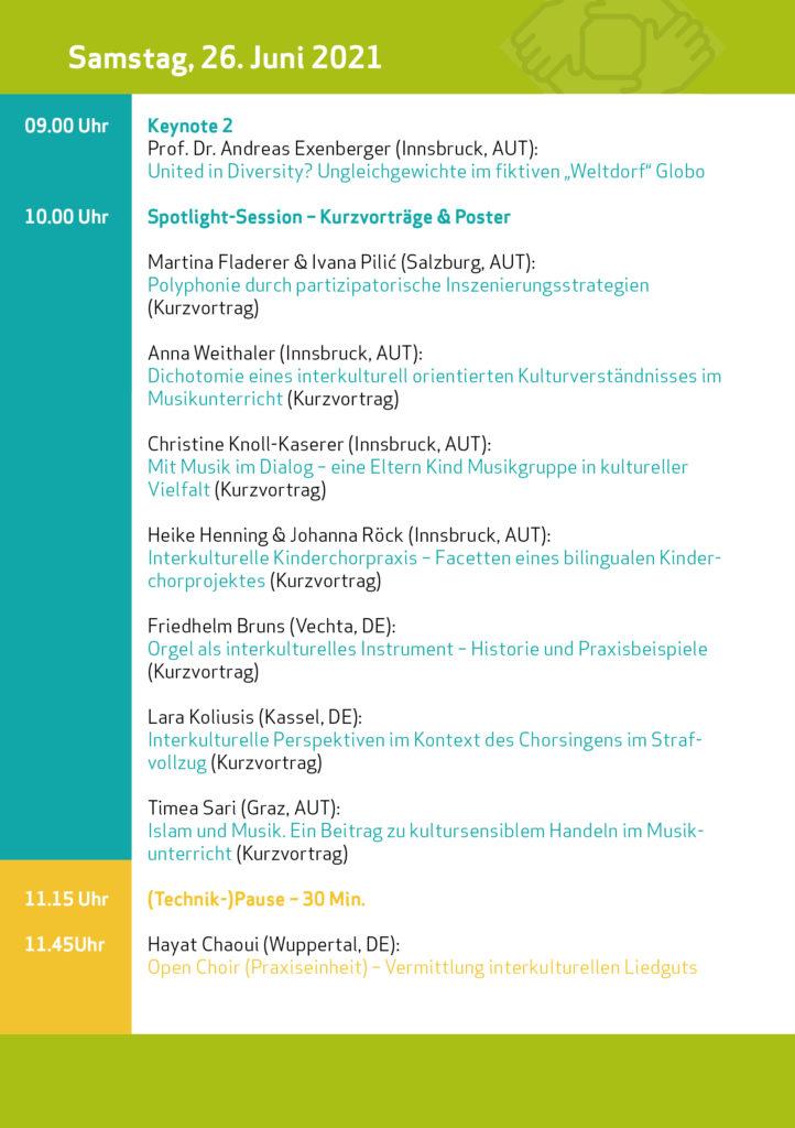 Programm Symposium 2