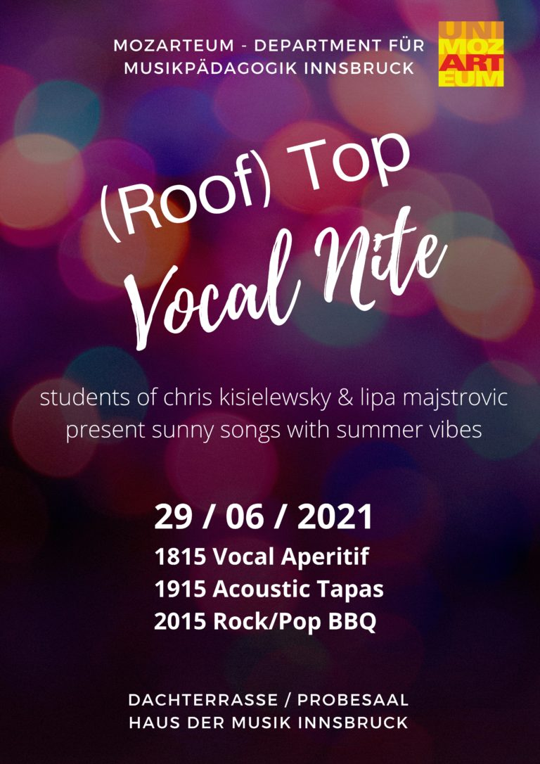 Read more about the article (Roof) Top Vocal Nite